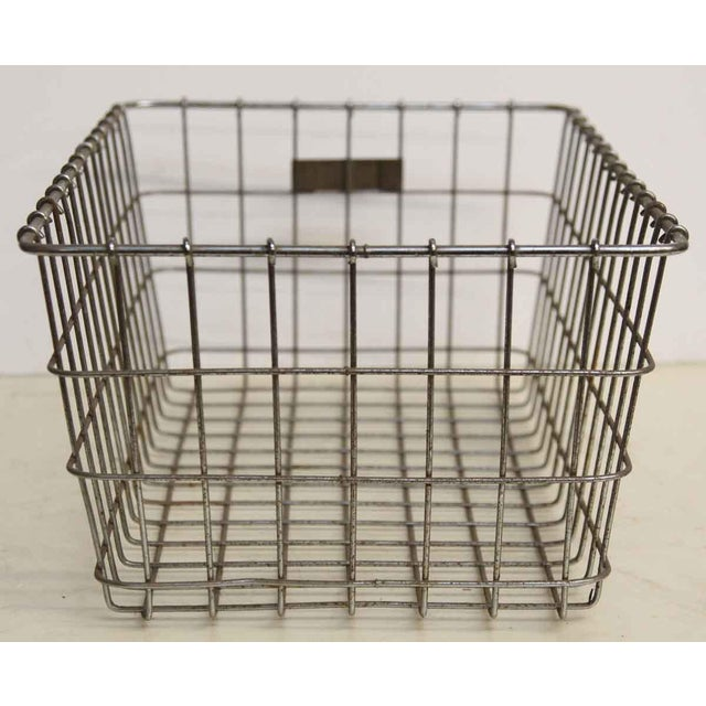 American Wire Form Co. No. 27 Metal Basket For Sale - Image 5 of 5