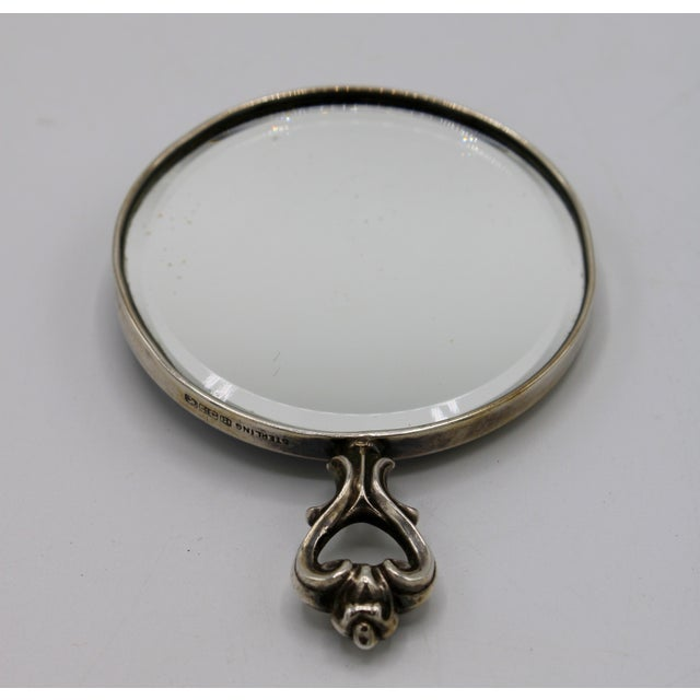 Traditional Jasperware Sterling Silver Wedgewood Purse Mirror For Sale - Image 3 of 8