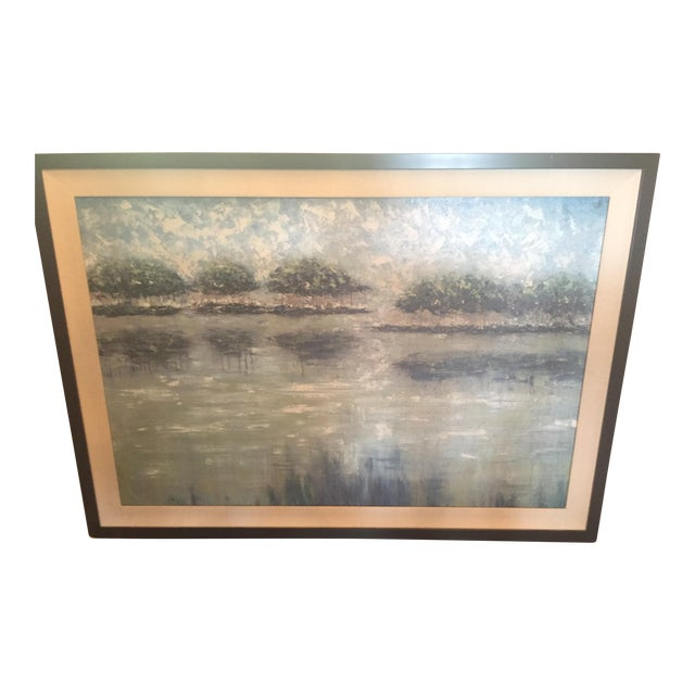 Impressionistic Landscape Painting - Image 1 of 4
