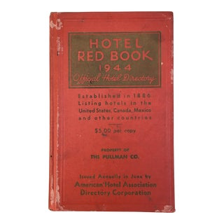 1944 Hotel Red Book