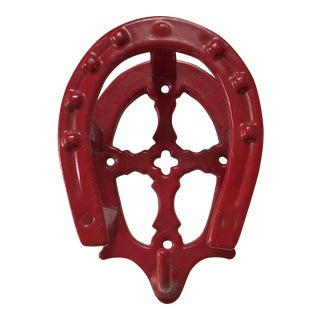 Red Horseshoe Hook For Sale