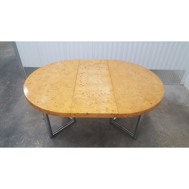 Mid-Century Modern Milo Baughman Dinner Table . For Sale In Miami - Image 6 of 13