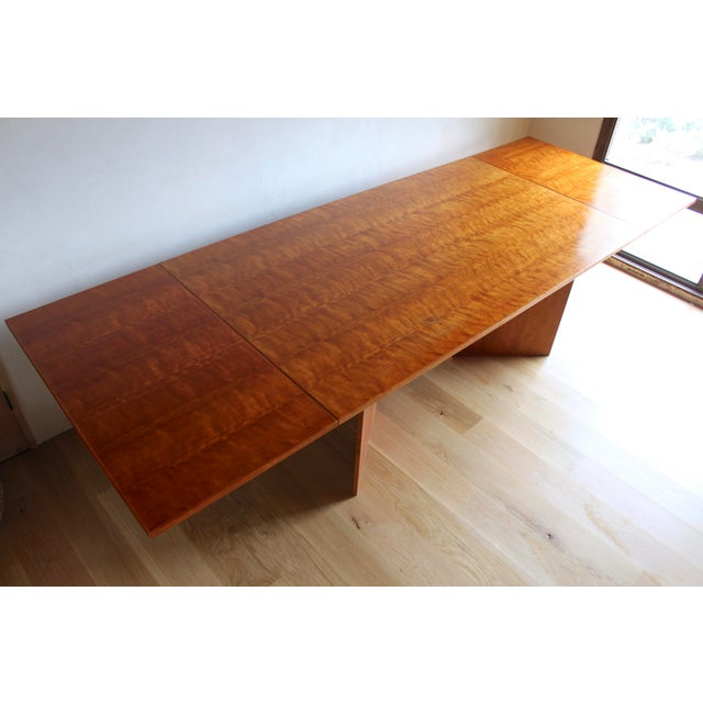 This table represents the lifetime achievement of an extremely accomplished craftsman/woodworker. Commissioned in the 90s...