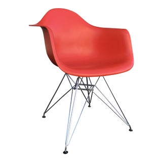 Eames for Vitra Plastic Shell Armchair For Sale