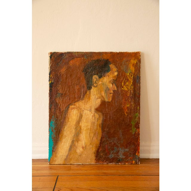 Antique Nude Oil Painting For Sale In Los Angeles - Image 6 of 6
