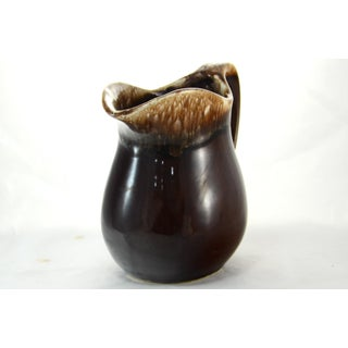 Brown Drip Glaze Farmhouse Pitcher Preview