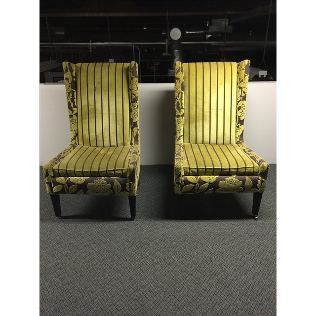 High-Back Romo Chairs - Pair - Image 2 of 3