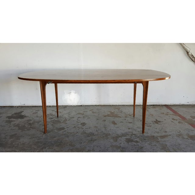 Broyhill Brasilia Walnut Drop Leaf Dining Table - Image 2 of 11