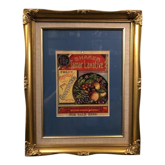 Custom Framed Tamar Laxative Artwork For Sale