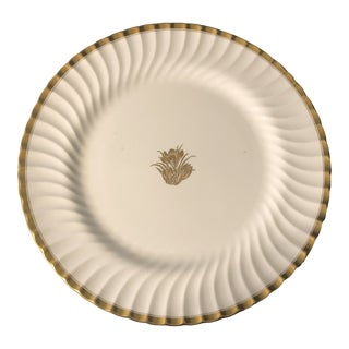 Minton Golden Crocus Chop Plate For Sale