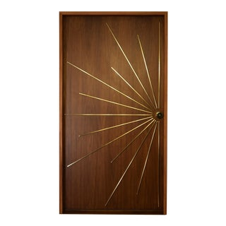 Modernist Ray Single Entry Door Built to Order For Sale