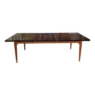 1950s Mahogany Extension Dining Table by Tommi Parzinger for Parzinger Originals For Sale