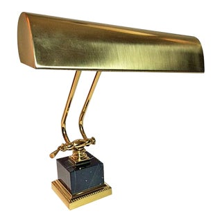 House of Troy Brass & Marble Adjustable Piano/Desk Lamp