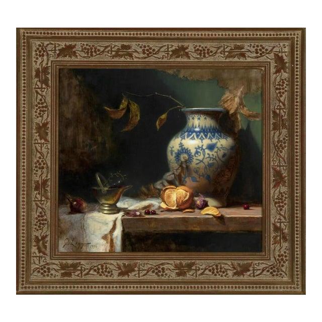 Jeff Legg Original Still Life Oil Painting For Sale