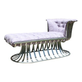 Mid-Century Russell Woodard Chaise Lounge For Sale