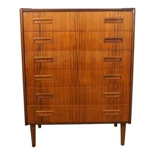 """Original Danish Modern Westergaard Teak Dresser - """"Hansen"""""""