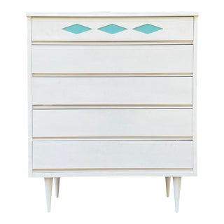 """1960s Bassett """"Colorama"""" Highboy For Sale"""