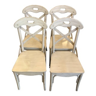 French Country Dining Chairs - Set of 4 For Sale