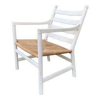 1950s Danish Modern Hans Wegner Side Chair For Sale