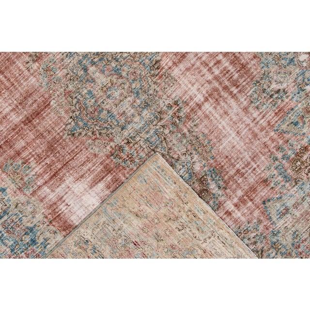 "Islamic Apadana-Antique Persian Distressed Rug, 9'5"" X 13'0"" For Sale - Image 3 of 9"