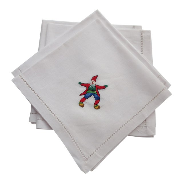 Linen Napkins - Set of 4 - Image 1 of 4
