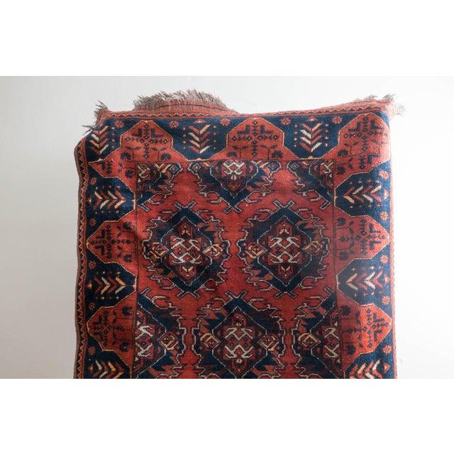 Boho Chic Vintage Persian Carpet Rug - 3′12″ × 6′2″ For Sale - Image 3 of 9