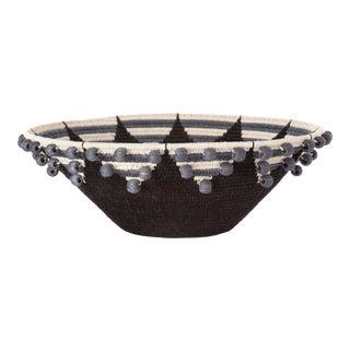 Festival Large Sisal Basket Black For Sale