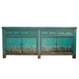 Vintage Blue Sideboard