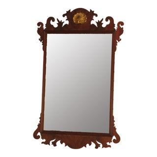 Henkel Harris Chippendale Mahogany Framed Mirror