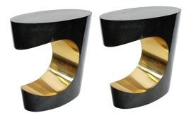 Image of Charcoal Accent Tables