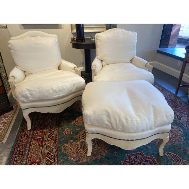 Traditional 1960s Vintage Lounge Set - 3 Pieces For Sale - Image 3 of 9