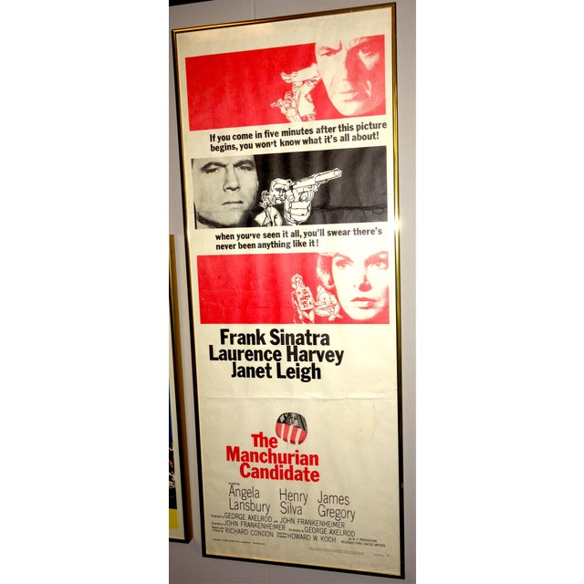 """Americana 1962 Movie Poster for the Film: """"The Manchurian Candidate"""", Direct by John Frankenheimer For Sale - Image 3 of 3"""