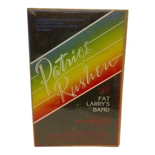 """1980 Vintage """"Patrice Rushem"""" Concert Poster For Sale"""