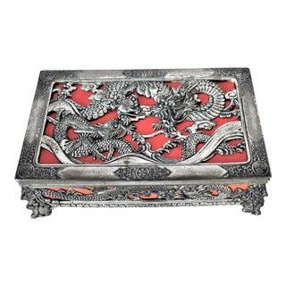 Vintage Zu Dragon Jewelry Box For Sale