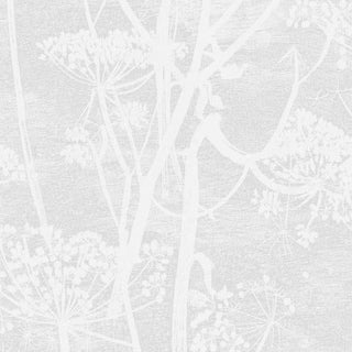 Cole & Son Cow Parsley Wallpaper Roll - White For Sale
