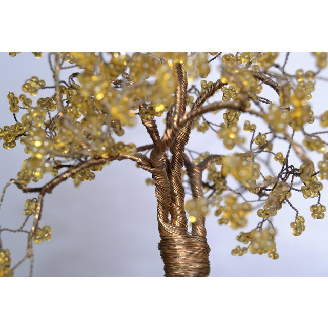 Handcrafted Tree Metal Sculpture Beads For Sale - Image 5 of 9