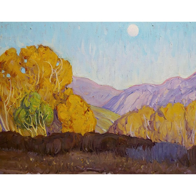 Tim Solliday -Beautiful Fall California Landscape - Oil Painting For Sale - Image 4 of 10