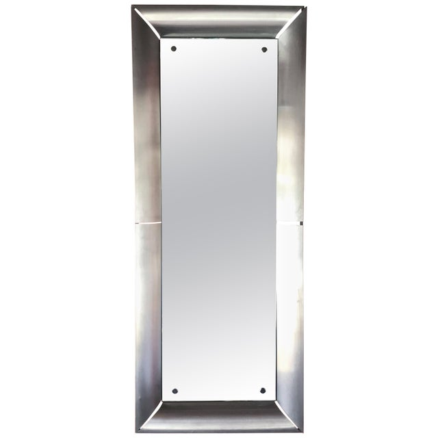 Mid-Century Italian Space Age Rectangular Mirrors For Sale - Image 9 of 9