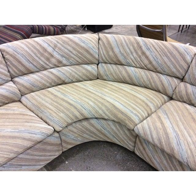 Saporiti Italia Six-Piece Sectional Sofa For Sale - Image 9 of 11