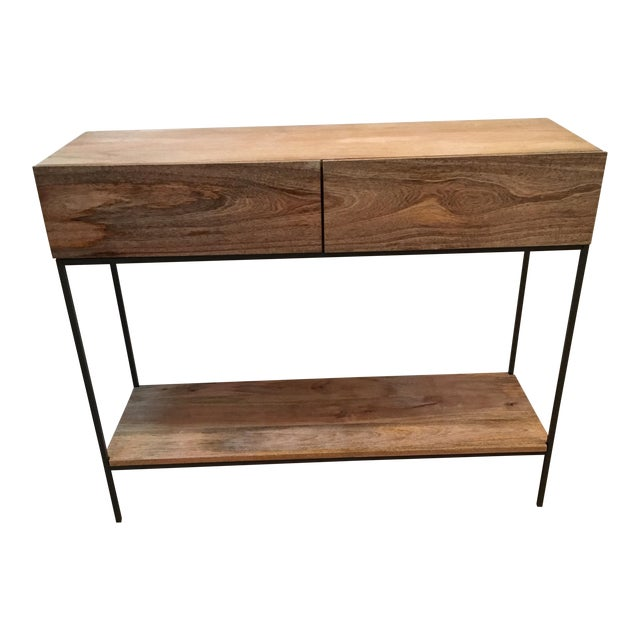 West Elm Industrial Storage Console - Image 1 of 3