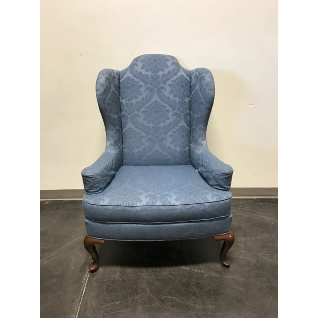 Drexel Classics Queen Anne Wingback Wing Chair - Image 5 of 10