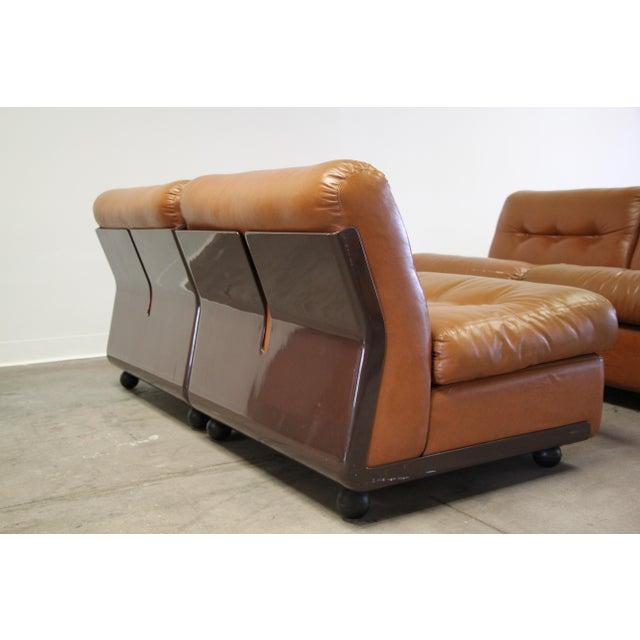 B&B Italia 1970s Vintage Mario Bellini Amanta Modular Sofa For Sale - Image 4 of 13