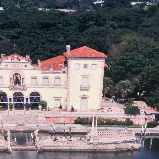 Monumental Photographic Print of Villa Vizcaya, Deaccessioned From Vizcaya For Sale - Image 11 of 13