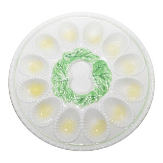 Ceramic Deviled Egg Plate