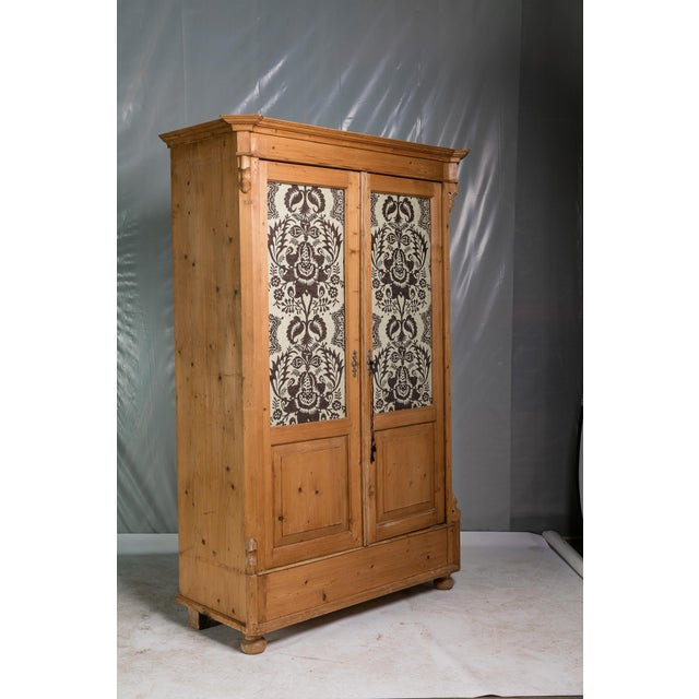 19th Century English Pine Armoire - Image 3 of 11
