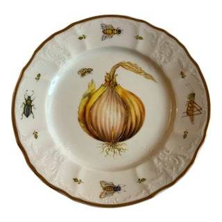 Anna Weatherley Hand Painted Porcelain Salad Plate For Sale