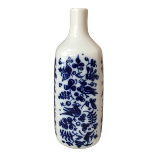 Vintage Porsgrund Norway Porcelain Vase For Sale