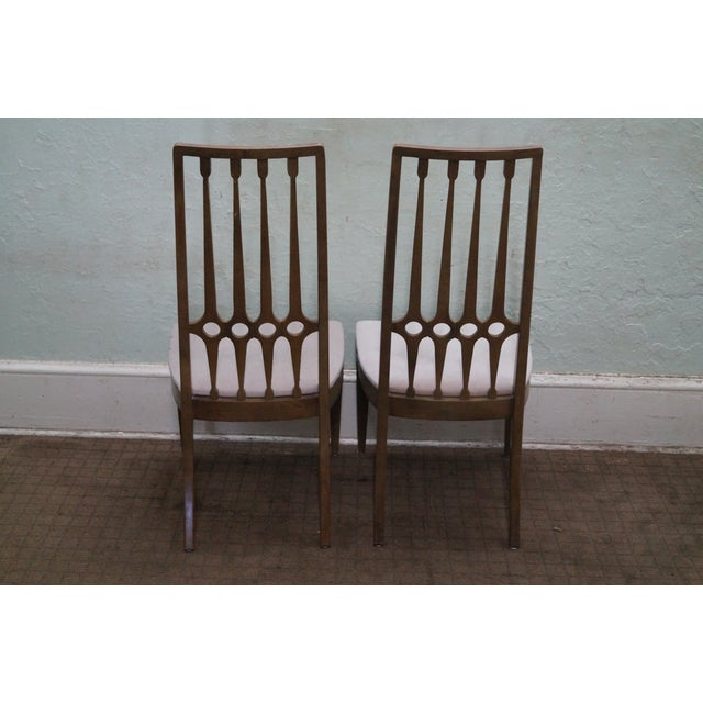 Thomasville Thomasville Mid Century Hollywood Regency Chairs For Sale - Image 4 of 10