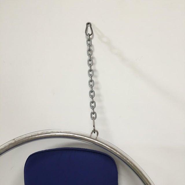 Acrylic Eero Aarnio Plushpod Hanging Bubble Chair For Sale - Image 7 of 8