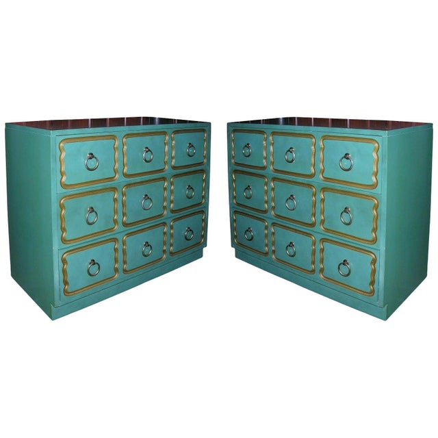 """Classic """"Espana"""" Chests in the Style of Dorothy Draper - A Pair For Sale - Image 9 of 9"""